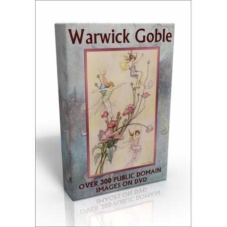Public Domain Image DVD - Warwick Goble