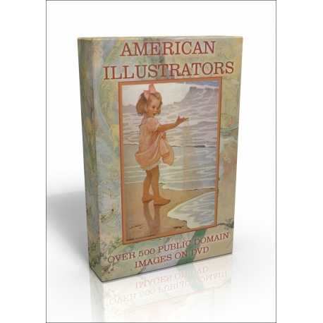 Public Domain Image DVD - American Illustrators (Revised)