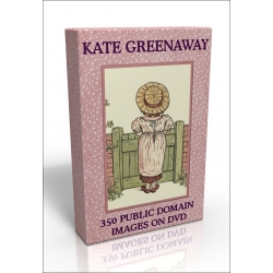 Public Domain Image DVD - Kate Greenaway