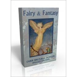 Public Domain Image DVD - Fairy & Fantasy