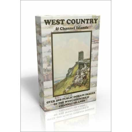 Public Domain Image DVD - West Country & Channel Islands