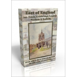 Public Domain Image DVD - East of England inc. Essex, Cambridge, Norfolk, Suffolk