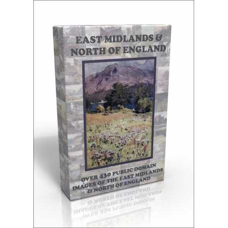 Public Domain Image DVD - East Midlands & North of England