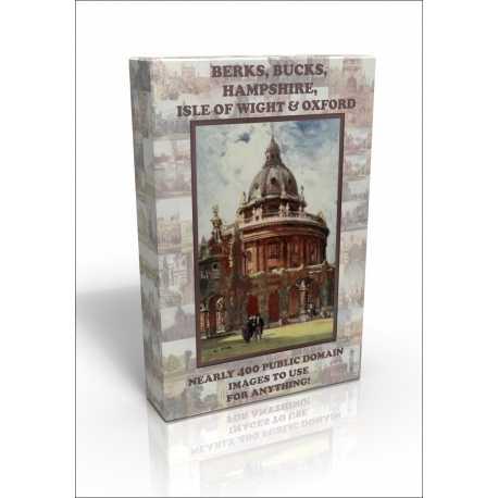 Public Domain Image DVD - Berks, Bucks, Oxfordshire, Hants &