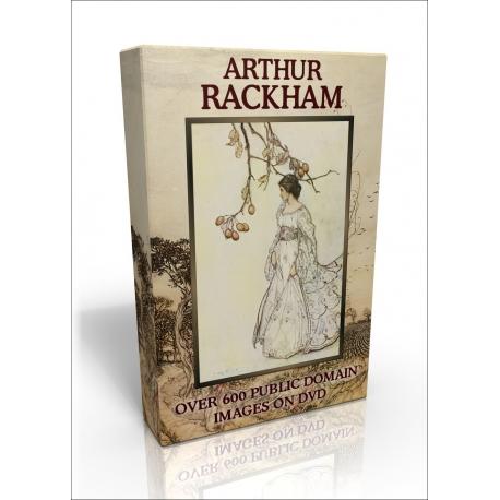 Public Domain Image DVD - Arthur Rackham Illustrations (non-US version)
