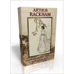 Public Domain Image DVD - Arthur Rackham Illustrations (US version)