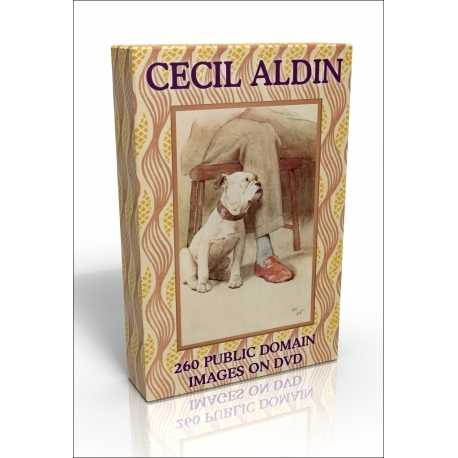 Public Domain Image DVD - Cecil Aldin Illustrations