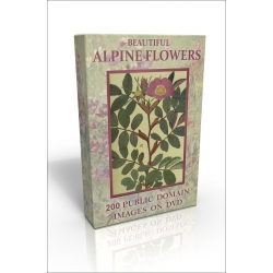 Public Domain Image DVD - Beautiful Alpine Flowers