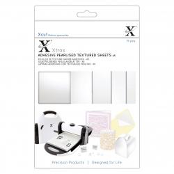 Xcut Xtra A5 Adhesive Pearlised Textured Sheets (XCU 174418)