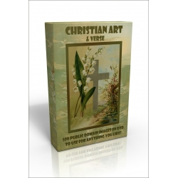 Public Domain Image DVD - Christian Art & Verse