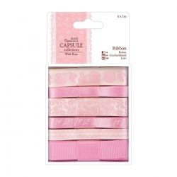 1m Ribbon (6pcs) - Capsule - Wild Rose (PMA 367115)