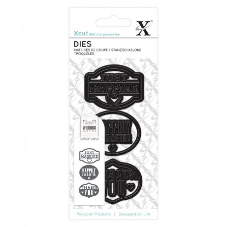 Small Dies (3pcs) - Just Married (XCU 503268)