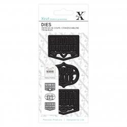 Small Dies (3pcs) - Wedding Invite (XCU 503270)