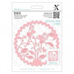 Die (2pcs) - Floral Fairies (XCU 504092)