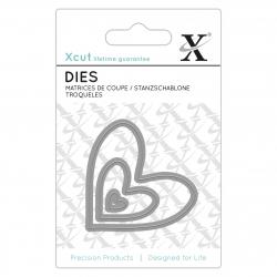 Mini Die (3pcs) - Nesting Hearts (XCU 503638)