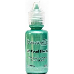 Dovecraft Pearl Effects - Brights, Green (DCBS92)