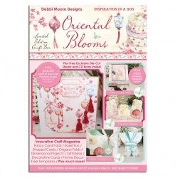 CD - Debbi Moore - Oriental Blooms Inspiration in a Box