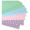 "Dovecraft Pastel Polka 6""x6"" Cards & Envelopes (DCCE008)"