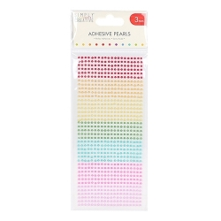 Simply Creative 3mm Pearls 800 Pack - Rainbow (SCDOT056)
