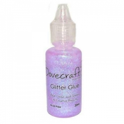 Dovecraft Glitter Glue - Pastels, Candyfloss (DCBS68)
