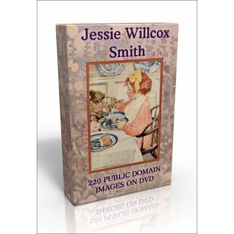 Public Domain Image DVD - Jessie Willcox-Smith