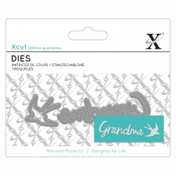 Mini Sentiment Die (2pcs) - Grandma (XCU 504103)