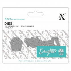 Mini Sentiment Die (2pcs) - Daughter (XCU 504109)