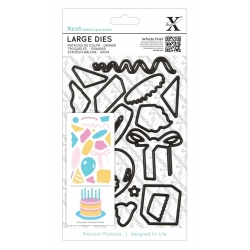 Large Dies (19pcs) - Birthday Party (XCU 503920)