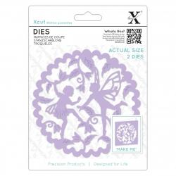 Die (2pcs) - Woodland Fairies (XCU 504093)
