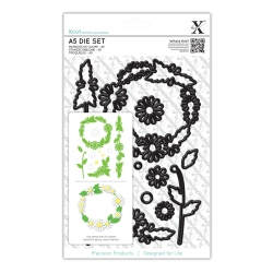 A5 Die Set (12pcs) - Daisy Chain Frame (XCU 503243)