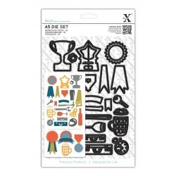 A5 Die Set (24pcs) - Men's Icons (XCU 503186)