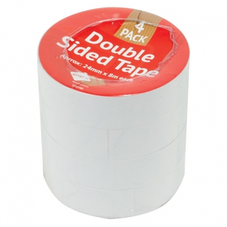 Double Sided Tape - 4 Pack (U-80162)
