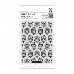 A6 Embossing Folder - Damask Pattern (XCU 515143)