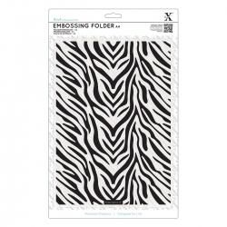 A4 Embossing Folder - Zebra Print (XCU 515917)