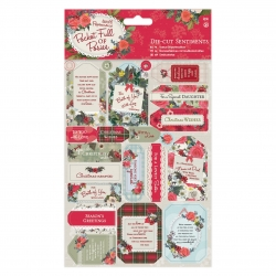 Die-cut Sentiments (2pk) - Pocket Full of Posies (PMA 157954)