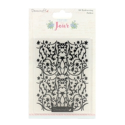 Dovecraft Couture du Jour Embossing Folder (DCEMB004)