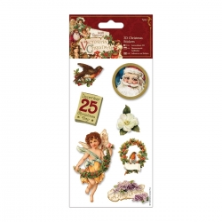 Victorian Christmas - 3D Stickers (PMA 805801)
