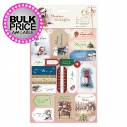 Die-cut Sentiments (2pk) - Wellington Christmas (WEL 157901)