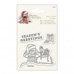 Mini Clear Stamp (3pcs) - Wellington Christmas, Chimney (WEL 907903)