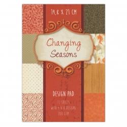 A5 Paper pad - Changing Seasons (16PL1)