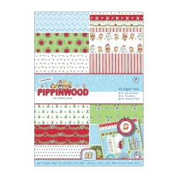 A4 Paper Pack Linen (26pk) - Pippinwood Christmas (PMA 160921)