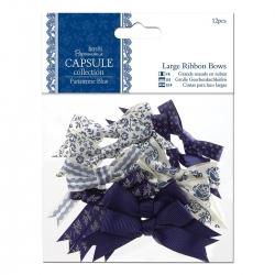 Large Ribbon Bows (12pcs) - Parisienne Blue (PMA 367209)