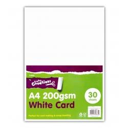 A4 White Card (U-80883)