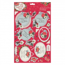 A4 Decoupage Pack - Pocket Full of Posies - Mum (8 sheets) (PMA 169941)