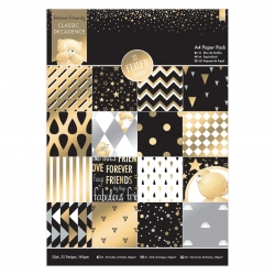 A4 Paper Pack - Metallic Gold Forever Friends Classic Decadence (FFS 160118)