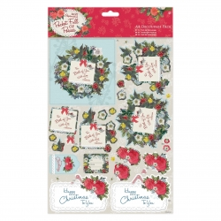A4 Decoupage Pack - Pocket Full of Posies - For You (8 sheets) (PMA 169942)