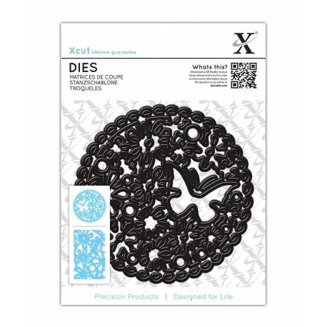 Dies (1pc) - Floral Cluster Circle (XCU 503228)