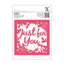 Xcut Dies - Just for You Topper (XCU 503297)