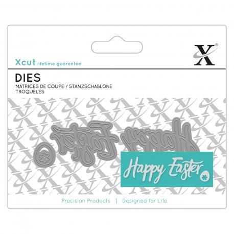 Mini Sentiment Die (3pcs) - Happy Easter (XCU 503169)