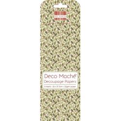 First Edition FSC Deco Mache - Small Holly (FEDEC162X15)